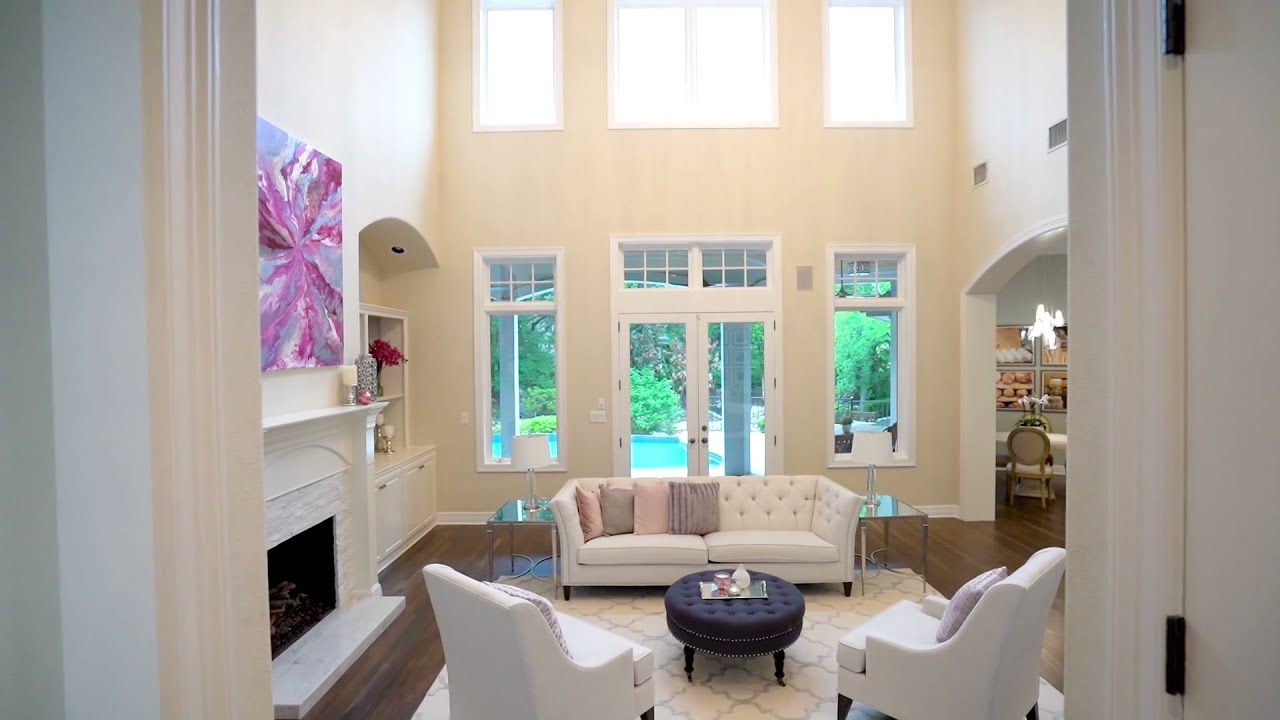 Distinctive home for sale on cul-de-sac in Westlake Hills | 2904 Meandering River Court