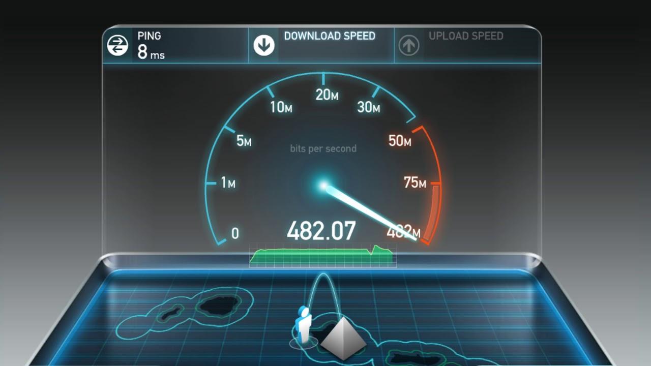 Spectrum 400/20 internet (Hawaii)   Best Test - YouTube
