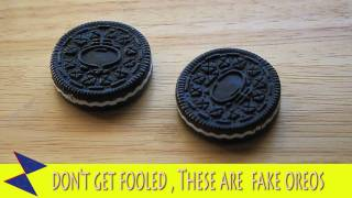 These Are  Fake Oreo Cookies