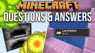 Minecraft 1.13 Questions & Answers [Minecraft Myth Busting 112]