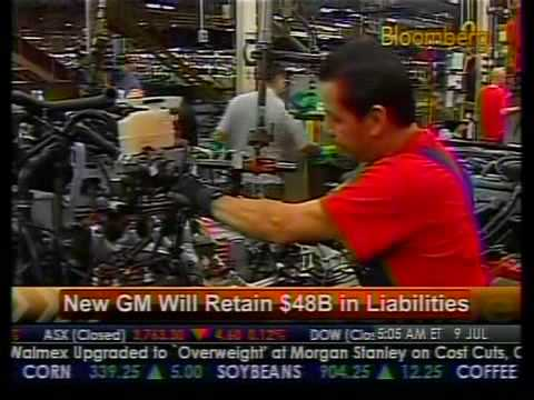 New GM Retain $48B In Liabilities - Bloomberg