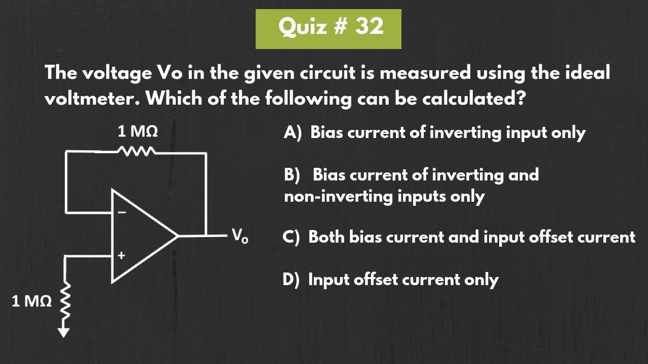 Quiz 32 (Solution)