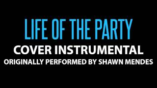 Life Of the Party (Cover Instrumental) [In the Style of Shawn Mendes]