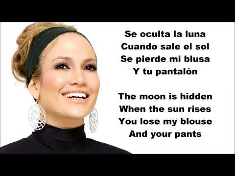Jennifer Lopez - Amor, Amor, Amor ft. Wisin English and Spanish LYRICS