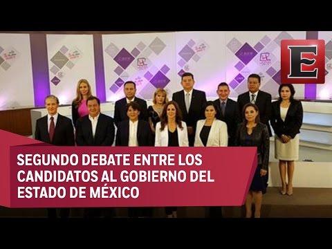 Segundo debate entre los candidatos al Gobierno del Estado de México