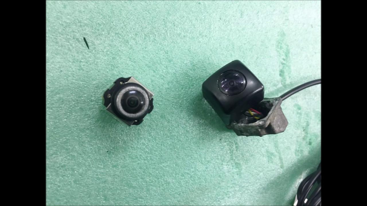 ремонт оригинальной камеры заднего вида