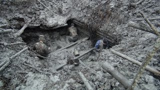 Excavations of German dugout, it was unreal adventure!