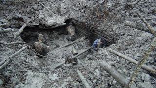 Эпичные Раскопки, немецкий Блиндаж Вторая Мировая металлоискатель не нужен!