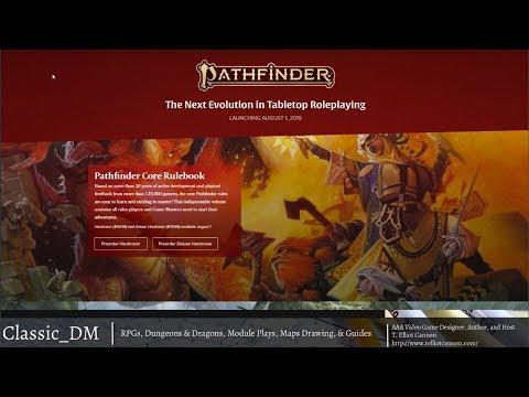 Pathfinder 2E - Pre Launch Look!