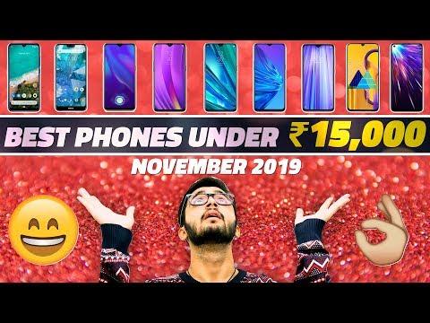 Best Mobile Phones Under Rs. 15,000 (November 2019 Edition)