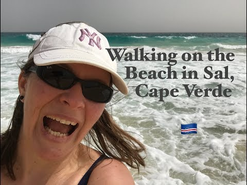 Ophelia Talks about Walking in Sal, Cape Verde