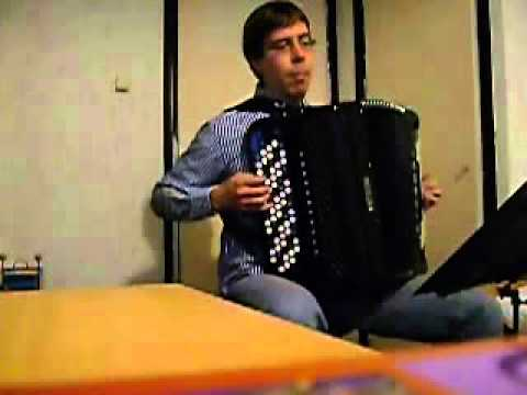 Brahms - Hungarian Dance 5 on Accordion