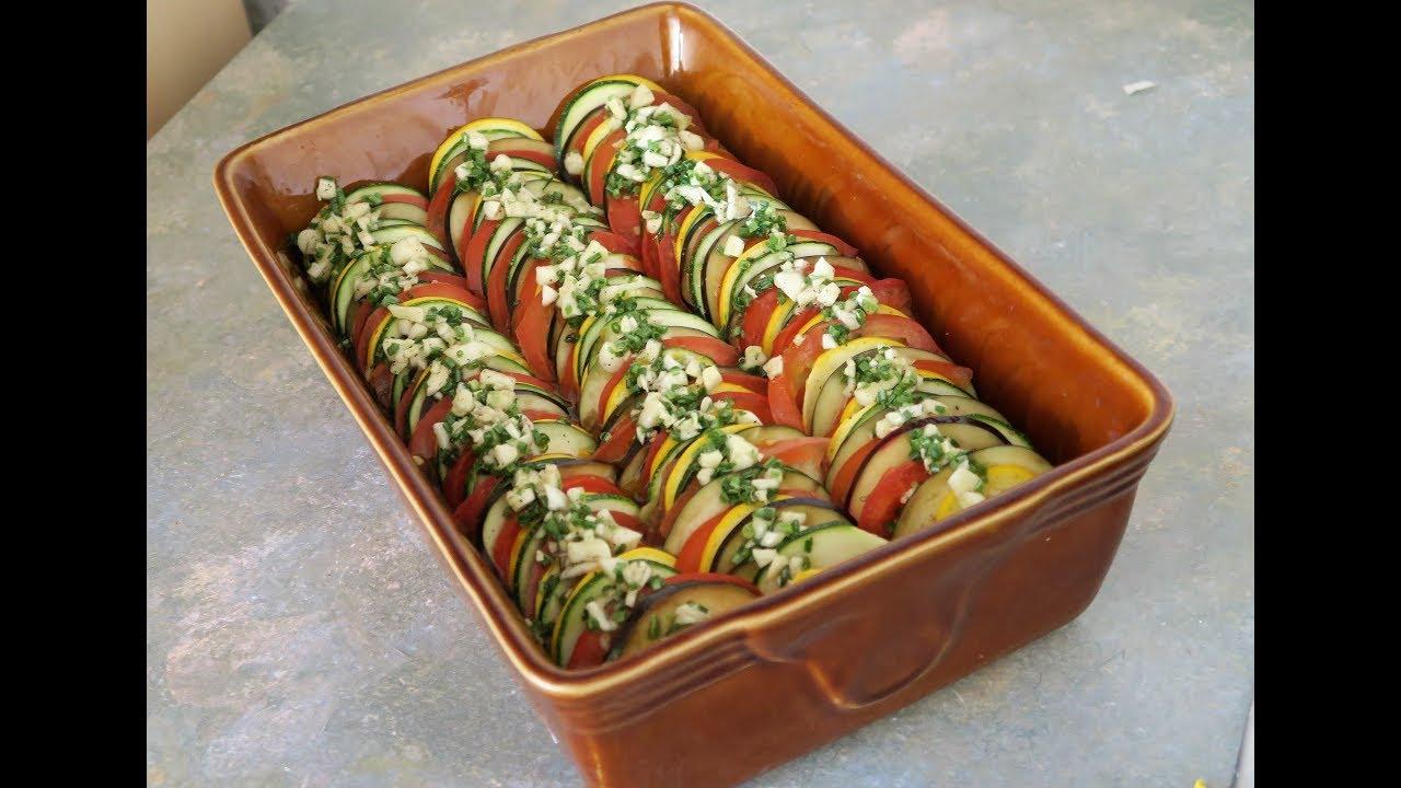 Recette Facile Du Tian Provencal recette 116 : tian à la provençale (légumes d'été) / ratatouille casserole