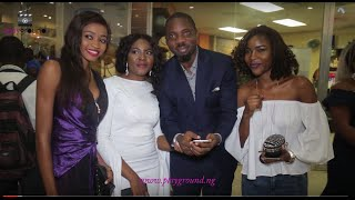 otunba gbenga daniels gani adams iyabo ojo and others attend movie premiere story like mine