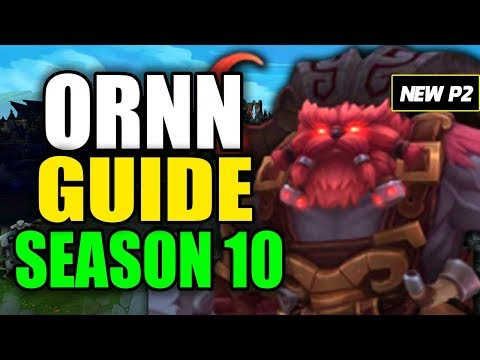 HOW TO PLAY ORNN SEASON 10 - (Best Build, Runes, Playstyle) - S10 Ornn Gameplay Guide