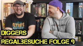 Regalbesuche - Digger bei Euch zu Gast - Folge 09 – Arthur - Brettspiele - Boardgame Digger