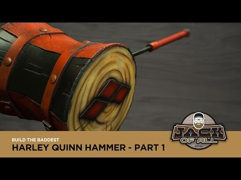 Build a Harley Quinn Hammer - Part 1