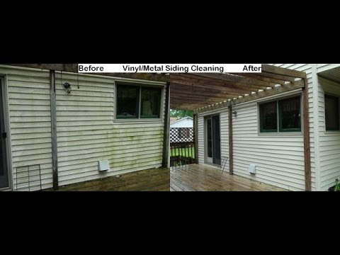 Siding Cleaning House Washing Des Moines Iowa Youtube