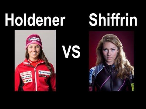 Mikaela Shiffrin vs Wendy Holdener