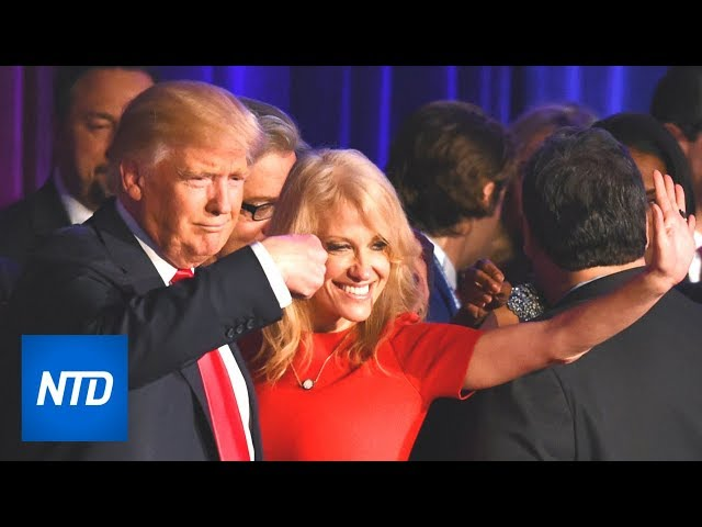 Trump gives Kellyanne Conway his vote of confidence