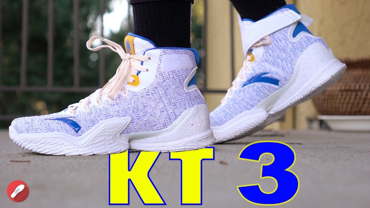 6b4e735cdd9 Anta Kt 3 (Klay Thompson) First Impressions! - YouTube