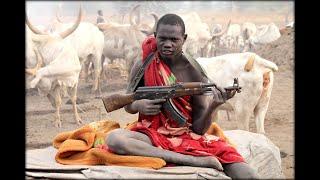 Южный Судан.  Племя мундари.