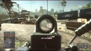 100 Clip Spray Say Hello 2 My Machine Gun Friend, Battlefield 4 M249 Squad Deathmatch Gameplay