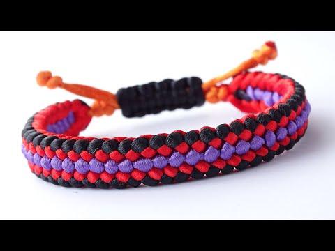 DIY Macrame Style Bracelet-Sanctified Covenant/Square/Cobra Sliding Knot-CBYS