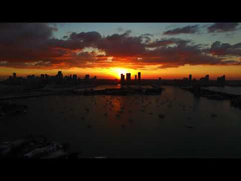 Miami Aerial View by Hawk Geo - 2013