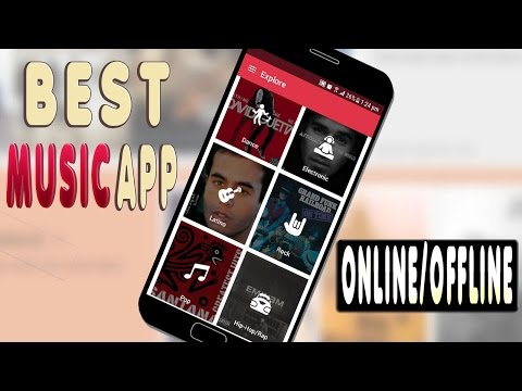 Best Online/Offline MUSIC App NOT On the PlayStore 2017
