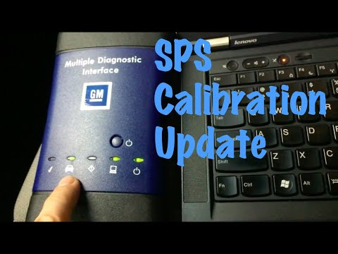 GM SPS Programming: MDI Tool J2534 Mode ECU TIS2Web How to do a Calibration Update Reflash (IPC)