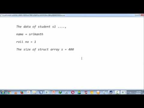 3.creating a dynamic structure in c using malloc( )