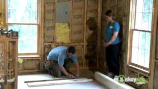 Build A Closet - Beginning Construction Of The Walls