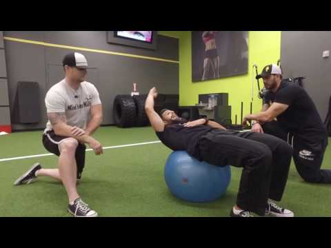 Killer Ab Exercise- The Physio Ball Crunch