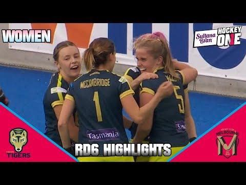 Tassie Tigers Vs Hockey Club Melbourne | Sultana Bran Hockey One Women 2019, Round 6 Highlights