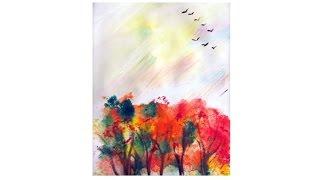 Обложка Осенний пейзаж