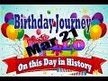 Birthday Journey Mar 21 New