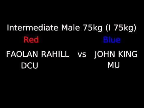DCU Boxing Intervarsity Finals 2016