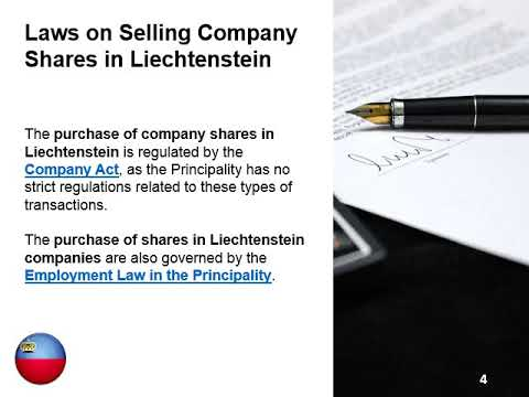 How to Purchase Shares in a Company in Liechtenstein