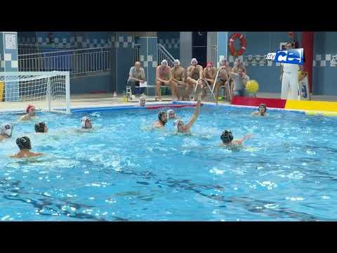 El Club Natación Caballa logró una victoria agónica ante el Waterpolo Málaga
