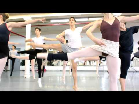 "Joffrey Ballet School NYC ""A Day In The Life of A Student"" Feat. Camila Schaefer"