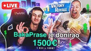 DONIRAM NUGATU 1500 EVRA - UŽIVO! * 1 kill = 100€ *
