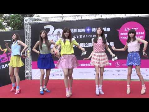 2014Hito流行音樂獎拉票會 Popu Lady - 戀愛元氣彈