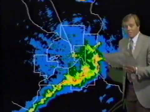 KSTP TV Channel 5 - Tornado warning from 1987 - Minneapolis/St.Paul