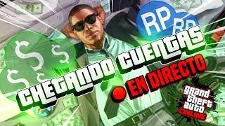 !!CHETANDO CUENTAS + REGALANDO DINERO + RP EN GTA V ONLINE!!