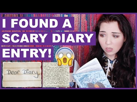 I Found A Scary Diary Entry (With Pictures)