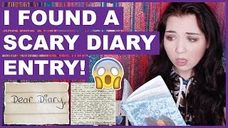 One of Jessii Vee's most viewed videos: I Found A Scary Diary Entry (With Pictures)