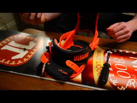 Burton Toe Strap Swap for Union, Ride Snowboard Bindings