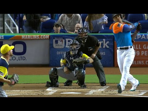 NL Player of the Week ending 8/27: Giancarlo Stanton