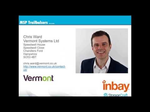 StorageCraft MSP Trailblazers series - Chris Ward, Vermont Systems -  22.03.17
